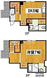 第二下堤谷口マンション[305号室号室]の間取り