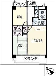 ハイツチャコ[2階]の間取り