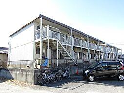愛知県知多郡武豊町大字冨貴字市場の賃貸アパートの外観