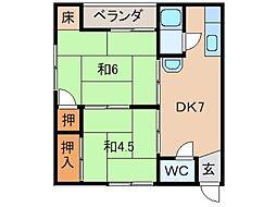 第一泉ビル[2階]の間取り