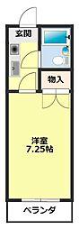 愛知県豊田市亀首町東畑の賃貸マンションの間取り