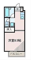 アオバハイム[2階]の間取り