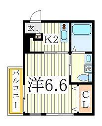 GRANADA[2階]の間取り