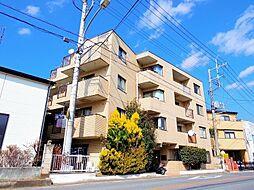 埼玉県富士見市羽沢1丁目の賃貸マンションの外観