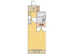 八王子ホワイトレジデンス[2階]の間取り