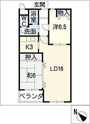 VIA 141[11階]の間取り