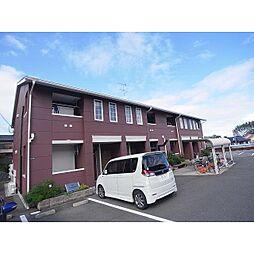 奈良県奈良市帝塚山中町の賃貸アパートの外観