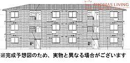D-roomS・K A棟[2階]の外観