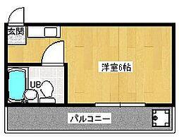 スチューデントハイツ太田[3階]の間取り