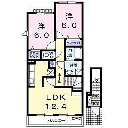 Mei Avenue[2階]の間取り