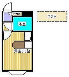 ベルピア・新松戸第2[2階]の間取り
