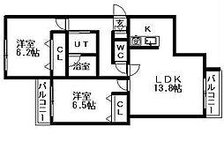北海道札幌市南区南三十五条西10丁目の賃貸マンションの外観