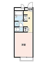 レオパレス藤原II[1階]の間取り