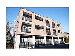 茨城県筑西市乙の賃貸マンションの外観