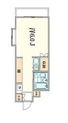 ペガサスマンション渋谷本町III 幡ヶ谷の駅近分譲タイプの賃[1階]の間取り