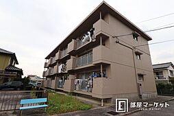 愛知県岡崎市稲熊町字宮下の賃貸アパートの外観