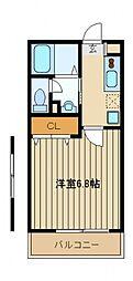 Village SHINO[2階]の間取り
