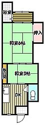 トキワ荘[2階]の間取り