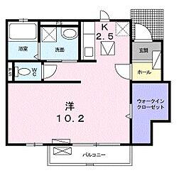 アンセスター桜[103号室]の間取り