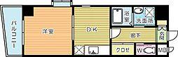 HIT KOKURA B.L.D(ヒット小倉ビル)[6階]の間取り