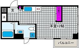 S-Cute魚崎(エスキュート)[4階]の間取り
