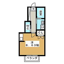 Superiore[1階]の間取り
