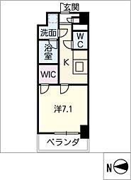 ロイヤルアンコール[6階]の間取り