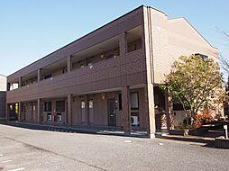 茨城県龍ケ崎市松ケ丘4丁目の賃貸アパートの外観