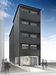 仮称)西院平町新築マンション[4階]の外観