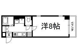 ディクティ三条[4階]の間取り