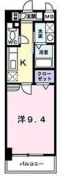 兵庫県神戸市須磨区車潰ノ下の賃貸マンションの間取り