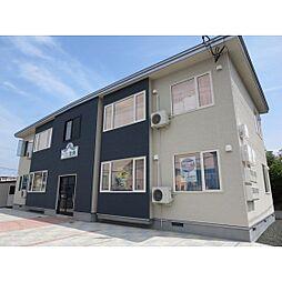 北海道北見市北央町の賃貸アパートの外観
