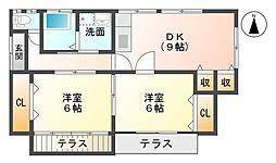 [一戸建] 佐賀県佐賀市田代2丁目 の賃貸【/】の間取り