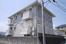 茨城県日立市相田町3丁目の賃貸アパートの外観