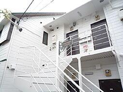 大橋フラット[202号室]の外観