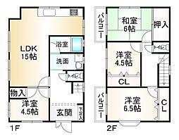 西代駅 1,280万円