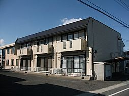 岡山県岡山市東区西大寺上3丁目の賃貸アパートの外観