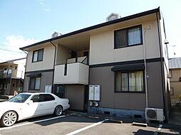 岡山県倉敷市連島中央2丁目の賃貸アパートの外観