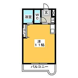 アークトレード太宰府[2階]の間取り