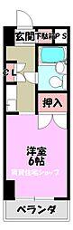 メゾン松浦[1階]の間取り