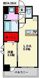 仮)弥永5丁目マンション[310号室]の間取り