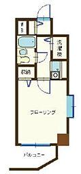 東京都北区上十条5丁目の賃貸マンションの間取り