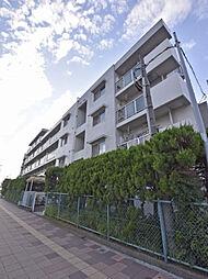 神奈川県横浜市神奈川区浦島丘の賃貸マンションの外観