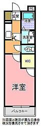 PRINCESS桜川[205号室]の間取り