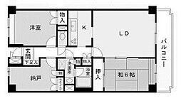 ベルフォーレ新百合ヶ丘[4階]の間取り