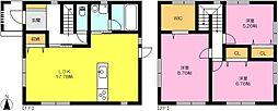 [一戸建] 佐賀県佐賀市多布施4丁目 の賃貸【/】の間取り