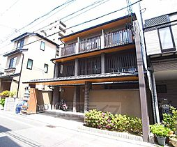 京都府京都市中京区下一文字町の賃貸マンションの外観
