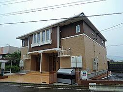 福岡県北九州市八幡西区馬場山の賃貸アパートの外観
