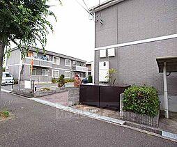 京都府木津川市加茂町里字留志の賃貸アパートの外観