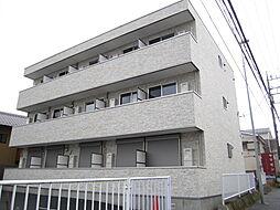 神奈川県横浜市旭区白根1丁目の賃貸アパートの外観